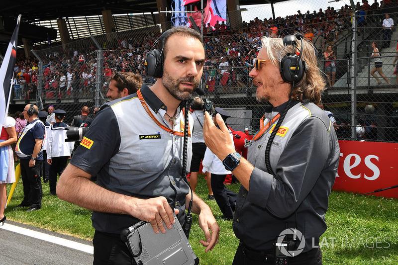 Max Damiani, Pirelli