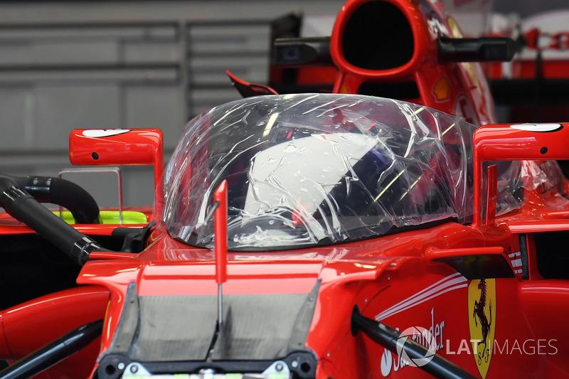 Ferrari SF70H з системою захисту кокпіту «Щит»