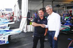 Michael Andretti und Jens Marquardt