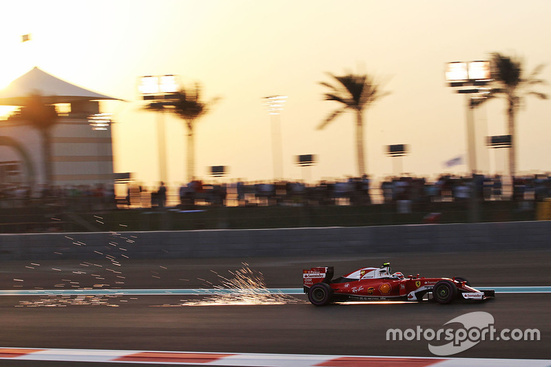 F1, Abu Dhabi 2016: Kimi Räikkönen, Ferrari SF16-H