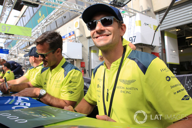 Paul Dalla Lana, Pedro Lamy, Mathias Lauda, Aston Martin Racing