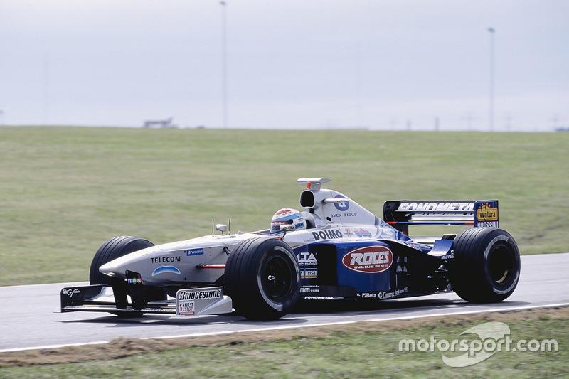 Esteban Tuero, Minardi M198, Ford