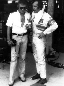 Ligier-Designer, Gerard Ducarouge mit Emerson Fittipaldi, Copersucar F5A-Ford