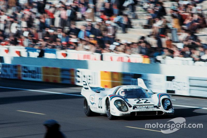 #22 Martini Racing Team Porsche 917K: Helmut Marko, Gijs van Lennep en 1971