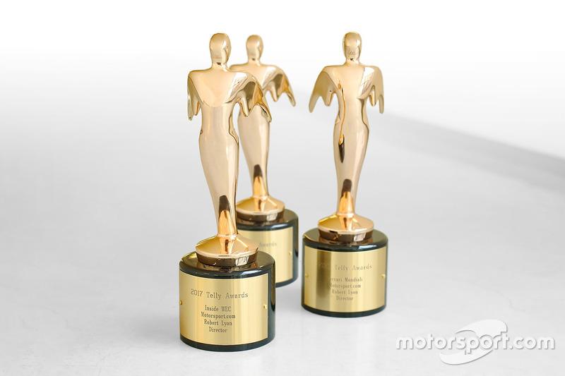 Tres premios Telly a Robert Lyon Senior Director, producción de Video y publicación