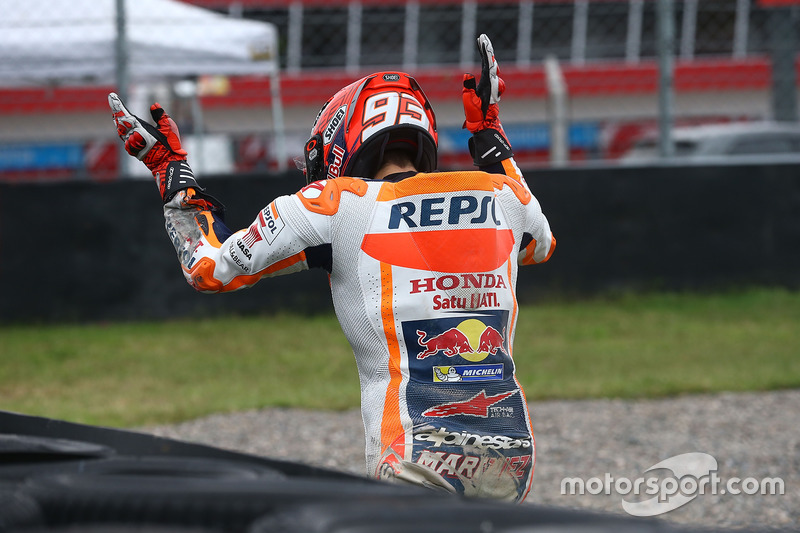 Marc Marquez, Repsol Honda Team, crash