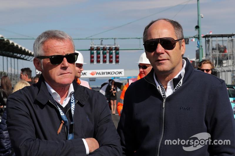 Marcello Lotti und Gerhard Berger