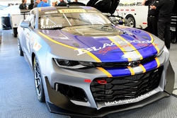 Car of #11 Blackdog Speed Shop Chevrolet Camaro GT4.R: Tony Gaples