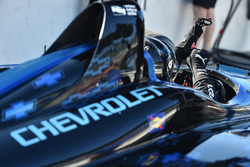 Juan Pablo Montoya prueba el Chevrolet IndyCar 2018