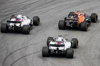 Стоффель Вандорн, McLaren MCL32, Лэнс Стролл и Фелипе Масса, Williams FW40
