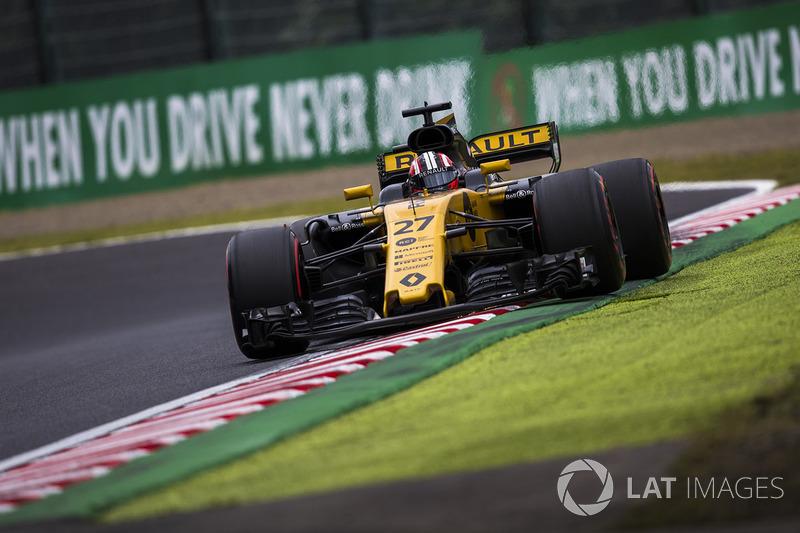 11: Nico Hulkenberg, Renault Sport F1 Team RS17