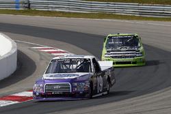 Austin Cindric, Brad Keselowski Racing Ford and Kaz Grala, GMS Racing Chevrolet