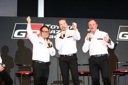 ヤリ-マティ・ラトバラ, トミ・マキネン,豊田章男社長, TOYOTA GAZOO Racing