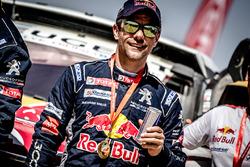 Second place Sébastien Loeb, Peugeot Sport