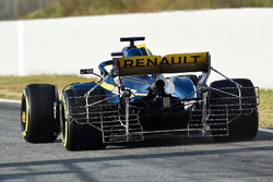 Nico Hulkenberg, Renault Sport F1 Team RS18 rear with aero sensor