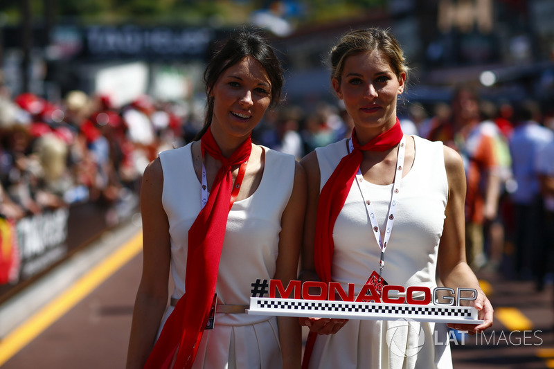 Monaco Grand Prix promotional girls