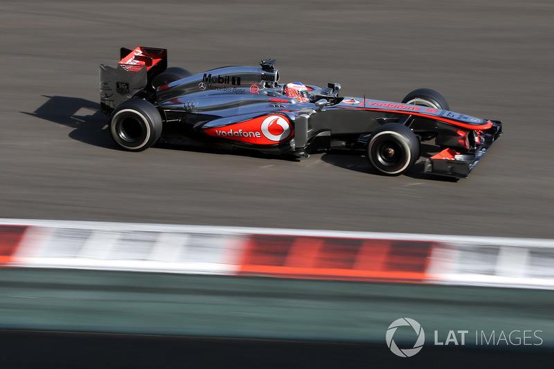 2013. McLaren MP4-28 Mercedes