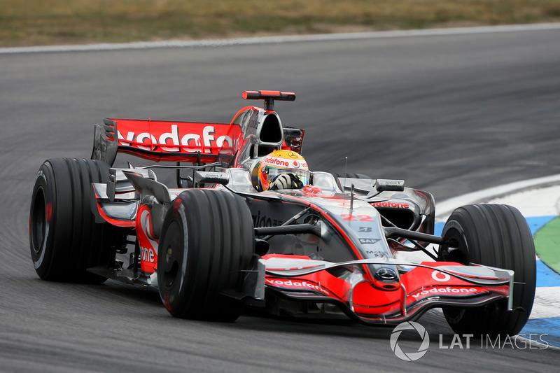 2008: Lewis Hamilton, McLaren Mercedes MP4 / 23