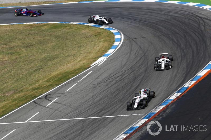 DNF: Sergey Sirotkin, Williams FW41