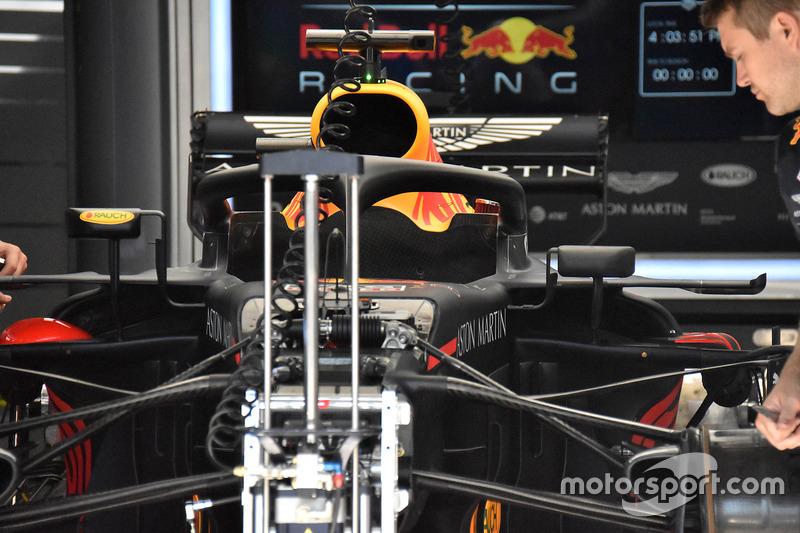 Передняя часть Red Bull RB14