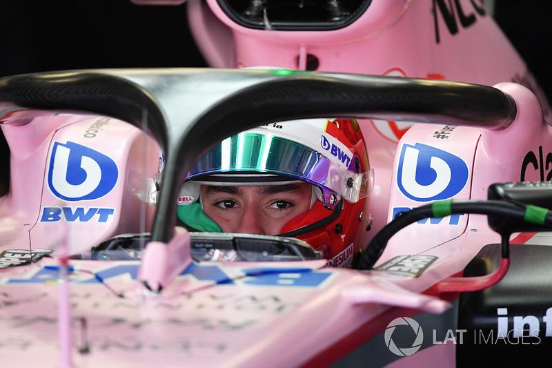 Alfonso Celis Jr., Sahara Force India VJM10 con el halo
