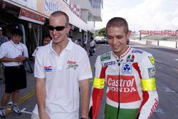 Colin Edwards e Valentino Rossi, Honda Racing