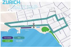 La pista de lo que será el ePrix en Zurich