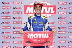 #81 BimmerWorld Racing, BMW 328i, ST: Nick Galante, Devin Jones Motul Pole Award