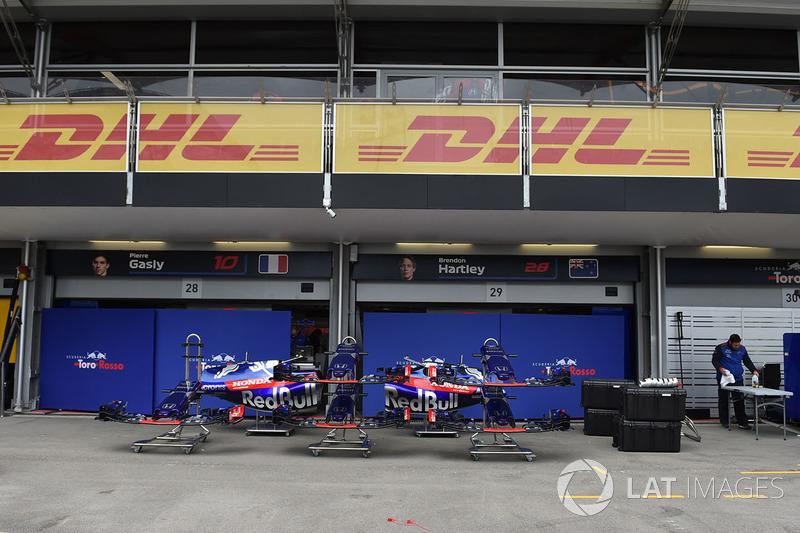 Garasi Scuderia Toro Rosso