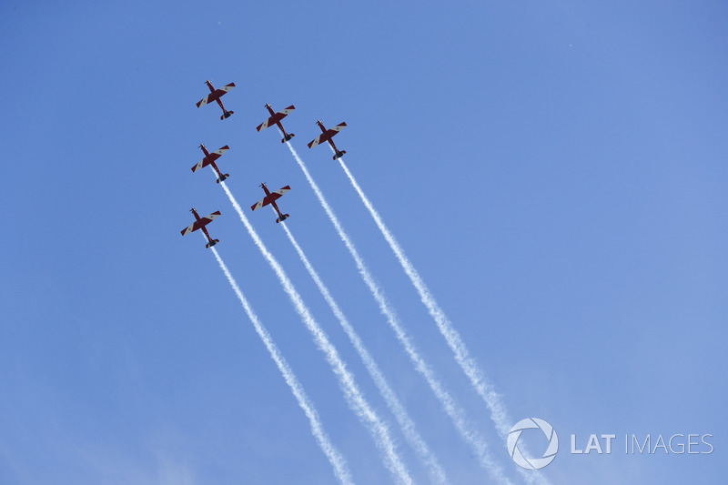 Royal Australian Air Force Roulettes display