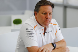 Zak Brown, director ejecutivo del McLaren Technology Group