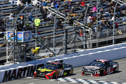 Martin Truex Jr., Furniture Row Racing, Toyota Camry 5-hour ENERGY/Bass Pro Shops and Clint Bowyer,