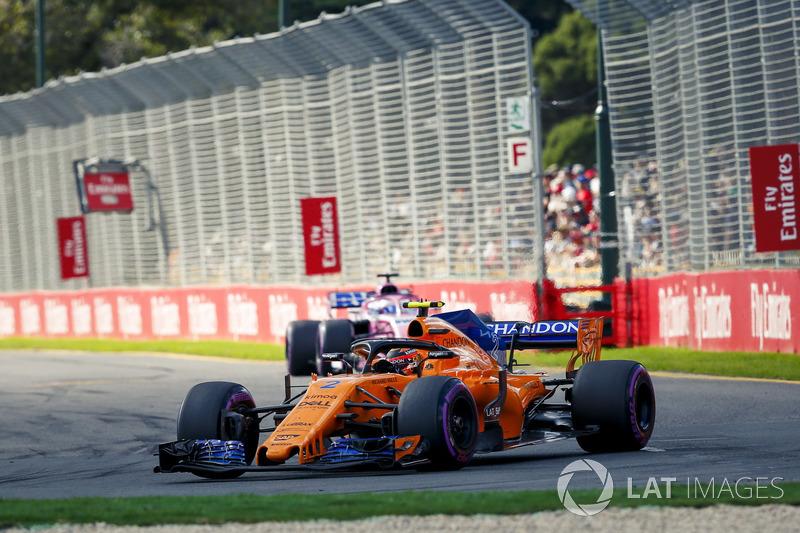 9e : Stoffel Vandoorne (McLaren)