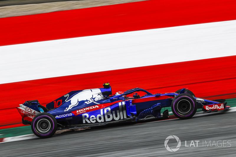 17 місце — П'єр Гаслі, Toro Rosso — 18