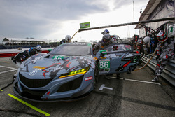 #86 Meyer Shank Racing with Curb-Agajanian Acura NSX, GTD: Katherine Legge, Alvaro Parente
