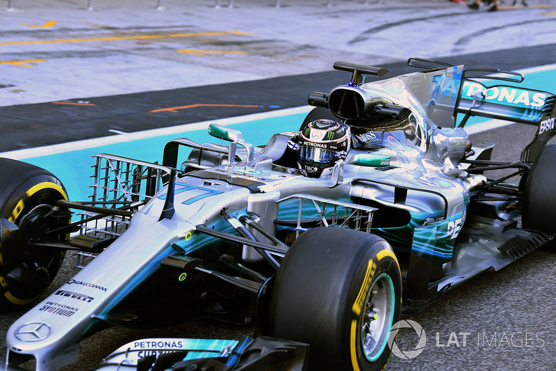 Valtteri Bottas, Mercedes-Benz F1 W08  aero sensörleri