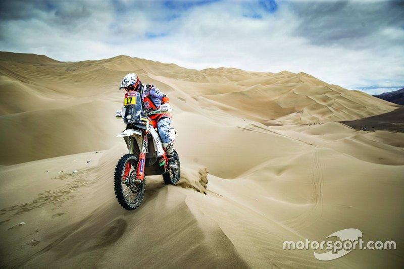 #17 Red Bull KTM Factory Racing KTM: Лайя Санс