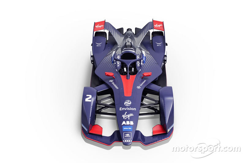 Monoposto di Formula E Gen 2 Virgin Racing
