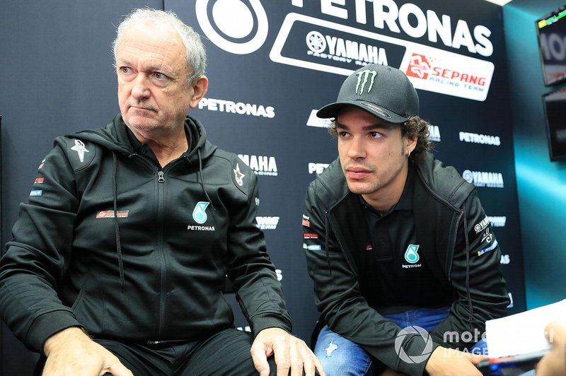 Forcada, Franco Morbidelli, Petronas Yamaha SRT
