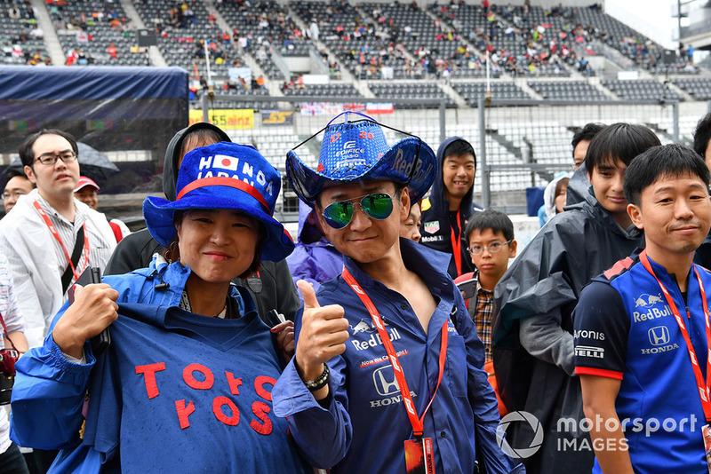 Scuderia Toro Rosso fans