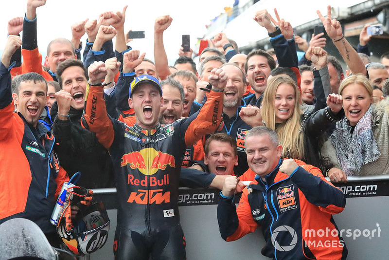 Third place Pol Espargaro, Red Bull KTM Factory Racing