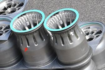 Mercedes F1 AMG rin