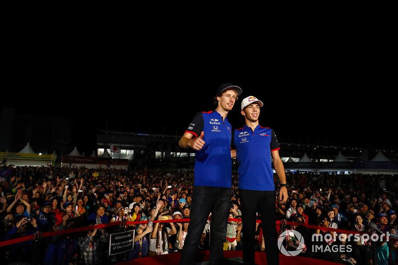 Pierre Gasly, Toro Rosso, Brendon Hartley, Toro Rosso