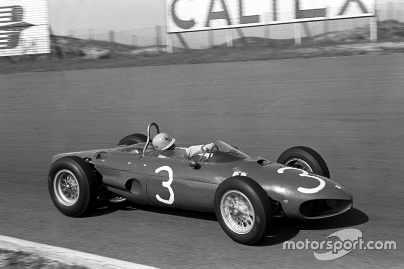 Ricardo Rodriguez con la Ferrari 156 nel GP d'Olanda del 1962