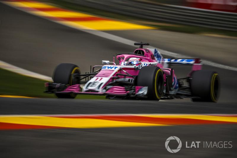 4: Серхіо Перес, Racing Point Force India VJM11, 2'01.894
