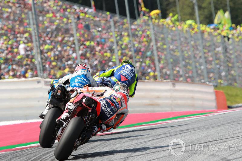 Валентино Россі, Yamaha Factory Racing, Тіто Рабат, Avintia Racing, Дані Педроса, Repsol Honda Team