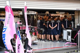Зустріч в боксах Force India F1