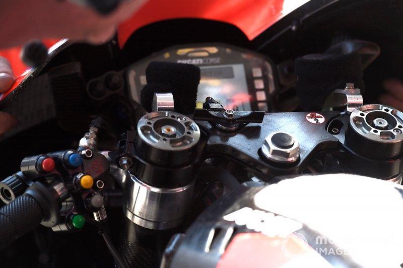 Jack Miller, Pramac Racing, detalle de la moto