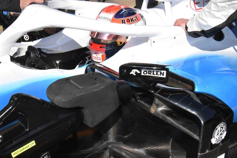 Detalle del FW42 de Robert Kubica
