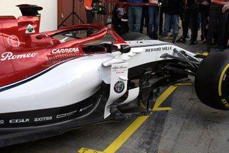 Alfa Romeo Racing C38 detail